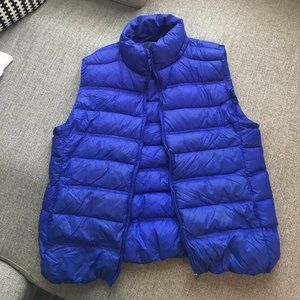 Blue Puffy Vest